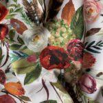 Bukiet z bordowym kwiatem Premium